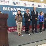 Inauguran Feria del Empleo de la Secretaría del Trabajo