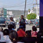 Anuncia Luis Nava mejora de vialidades y servicios públicos en Jurica Pueblo