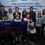 Luis Nava inauguró el Torneo Interdelegacional 2019