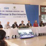 Reconoce el CONAPRED al Programa Municipal para Prevenir y Eliminar la Discriminación