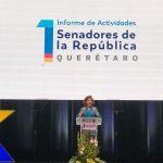 Hemos creado un bloque en el Senado para defender la Constitución: Murguía