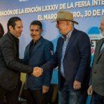 Acude Enrique Vega a la inauguración de FIGQ 2019
