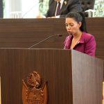 Garantizar gasto a favor de mujeres pide Connie Herrera al Congreso de la Unión