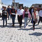 Entregó Luis Nava obras de urbanización para la colonia Fernando de Tapia