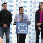 PAN Querétaro respalda decisión del Gobernador de desconocer a la presidenta de la CNDH