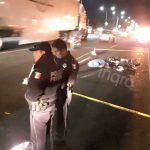 Muere motociclista en la 57 a la altura de Lomas de Casablanca