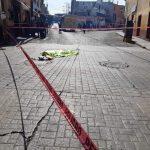 Muere arrollada por transporte publicó en el centro de San Juan del Río