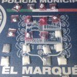Policías de El Marqués aseguraron narcóticos en San Isidro Miranda