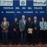 Festejan el Día del Policía en El Marqués