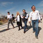 Pavimentación de calles beneficiarán a 450 vecinos de Las Águilas