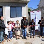 Entrega Elvia Montes mejoramiento de viviendas por más de 1 mdp