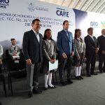 Anuncia gobernador inversión para remodelar secundaria en la Lázaro Cárdenas