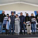 Respira Querétaro terminó la entrega de Calentadores Solares