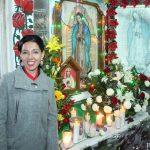 Festeja Connie Herrera a la Virgen de Guadalupe en San José el Alto