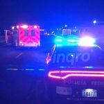 Hombre muere destrozado en carretera a SLP a la altura del Parque Industrial Querétaro
