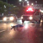 Hombre muere arrollado en Paseo de la República debajo del puente peatonal