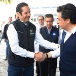 Gobernador y Director General del IMSS recorren las instalaciones del Nuevo Hospital General