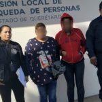 Reportada como no localizada. Policías de El Marqués dieron con su paradero