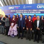Gobernador entrega obras en el COBAQ 3