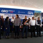 Gobernador entrega obras en Ezequiel Montes