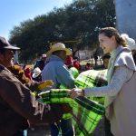 Apoya DIF Municipal a población vulnerable. Se reparten más de 30 mil cobijas