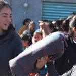 Concluye PC entrega de cobijas en El Marqués
