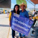 Visita Connie Herrera a locatarios de Mercados de Lomas y Santa Rosa Jáuregui