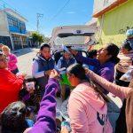 Celebra Querétaro Independiente Reyes Magos con niñas y niños