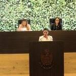 Vigilará Connie Herrera que Ejecutivo tenga un buen manejo financiero