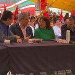 Municipio de Querétaro hace compromiso con familiasantorchistas