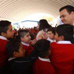"""Juntos, hacemos la diferencia en la primaria """"El Pípila"""": Luis Nava"""