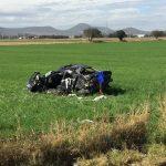 Mueren tres personas en accidente automovilístico