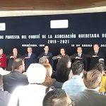 Gobernador toma protesta a Asociación Queretana de Hoteleros