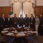 Gobernadores de Querétaro, Michoacán, Hidalgo y Guerrero dan seguimiento a temas de seguridad nacional