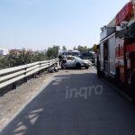 Una persona fallecida y dos lesionados deja accidente en km 204 de la México-Querétaro