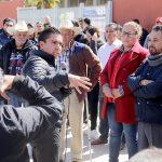 Anuncia Roberto Sosa obra en la comunidad de Bravo