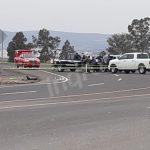 Encuentran restos humanos en bolsas sobre la carretera a Celaya. Casi límite con Querétaro
