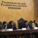 """Presentan libro """"Flamencopara lectores novohispanos"""",en la Facultad de Filosofía de la UAQ"""