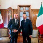 Recibe Gobernador a Embajador de Italia en México