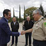 Se reúne Gobernador con integrantes de la Secretaría de la Defensa Nacional