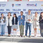 DIF El Marqués clausura Taller de Prevención del Embarazo Adolescente