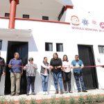 Entregan obra de remodelación de módulo de policía en Villa Progreso