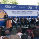 Gobierno invertirá 37 millones de pesos para obras en Jalpan de Serra