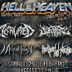 Hell and Heaven Fest calienta motores en Querétaro