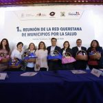 Luis Nava encabezó la 1ra. Reunión de la Red Queretana de Municipios por la Salud