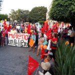 Exigen a Miguel Barbosa cesar represión contra líderes nacionalesde Antorcha