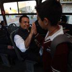 Supervisa Luis Nava la operación del Transporte Escolar de Querétaro