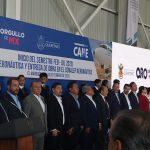 Gobernador entrega obras en el Conalep Aeronáutico