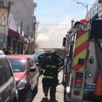 Se incendia local en Lucas Alamán Mercado Escobedo