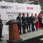 Gobernador acude a inauguración de la planta Brose en Colón